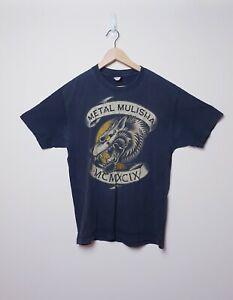 Metal Mulisha MCMXCIX Size L Large Black Wolf Graphic Short sleeve Tee T Shirt