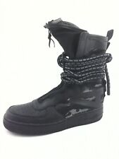 NIKE Air Force 1 Special Field Camo Sneaker Boots AA1128-002 Black US 10.5 $200