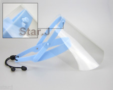 2 sets Dental Protective Face Shield Mask Dentist with Detachable Visor