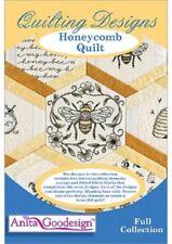 HoneyComb Quilt Anita Goodesign Embroidery Machine Design CD