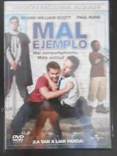 DVD MAL EJEMPLO - EDICION DE ALQUILER (5R)