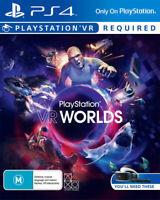 PlaySation VR Worlds PS4 Playstation 4 Game - Disc Only