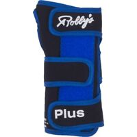 Robby's Cool Max Plus Right Hand Bowling Wrist Support, Blue