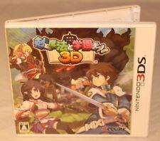 Ken to Mahou to Gakuen Mono Nintendo 3 DS 2 DS import Japon