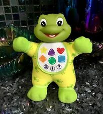 "TALKING 9"" LEAP FROG BABY TAD LEARNING FRIEND PLUSH LOVEY BATTERY SOFT TOY LITES"