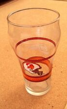 Enjoy Coca Cola Tampa Bay Buccaneers name & helmet logo glass coke