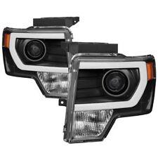 Spyder 9037252 DRL Light Bar Projector Headlights Black for 2009-2014 Ford F150