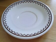 Royal China USA Jeannette Nutmeg SAUCERS ONLY  Set of 2
