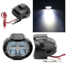 Scooters White Lights Working Spot Lamp DRL Headlight Super Bright With Switch