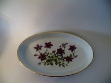 OVAL BAKER DISH by SPODE, Campanula Pattern, Made in England