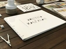 Portfolio Book Case 11X14 Landscape screw post portfolio Pure White Glossy 11x14