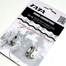TAYA missing link for 10 speed, Silver, 2 pairs, S12