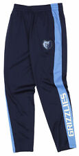 OuterStuff Nba Youth Boys Side Stripe Slim Fit Performance Pant, Memphis Grizzli