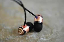 Gold SoundMAGIC E10 for iPhone and Android In-Ear Noise Isolating Earphone