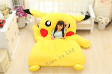 Hot sale Single Bed Filled Pikachu Bed Carpet Tatami Mattress Sofa Great Cute
