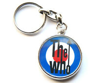 More details for the who classic rock band chrome keyring picture both sides