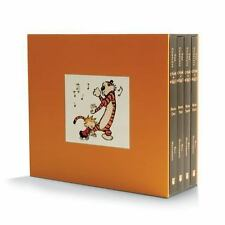 The Complete Calvin and Hobbes 4 Book Set Collection By Bill Watterson NEW [PB]