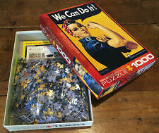 Rosie Riveter WWII Poster Puzzle Strong Women Power Quarantine Game Factory Jobs