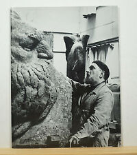 Ivan Mestrovic: Moses and the Jewish Memorial 1991 Flanigan SIGNED Sculpture