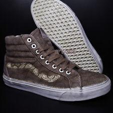 d177ebeb7f92 VANS Sk8 Hi Reissue Overwash Paisley Teak Men s Classic Skate Shoes Size 10