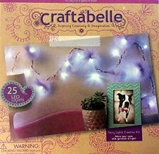Craftabelle Fairy Lights LED Creation Kit for Kids NEW Craft Light Up Project