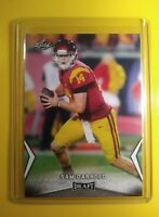 2018 Leaf Draft Sam Darnold USC Trojans Rookie Card #54 Awesome Action*SHARP*