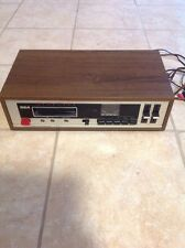 VINTAGE RCA STEREO 8 TRACK TAPECODER - RECORDER / PLAYER TAPE DECK