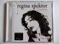 REGINA SPEKTOR Begin to Hope -  Music CD Album - VGC