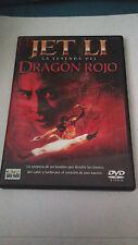 """DVD """"LA LEYENDA DEL DRAGON ROJO"""" JET LI"""