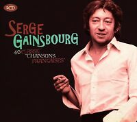 SERGE GAINSBOURG - CLASSIC CHANSONS FRANCAISE 2 CD NEW+