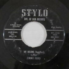 Jimmy Ford 45rpm Stylo ST-2105 We Belong (Together)/Be Mine Forever 1959 Rock