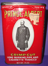 Prince Albert Crimp Cut Long Burning Pipe and Cigarette Tobacco 1 5/8oz  Tin
