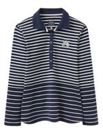 JOULES Blaise Long Sleeved Polo Shirt Size 8  RP£39.95 Free UK P&P