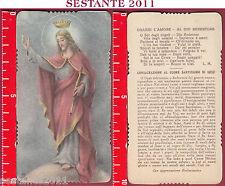 2210 SANTINO HOLY CARD GESù CRISTO RE REDENTORE AR 2143