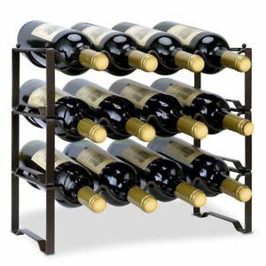 Ryleigh Tabletop Wine Bottle Rack in Bronze