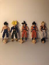 Dragon Ball Action Figures. Super Saiyan Heads. Goku, Gogeta, Vegito, Kai, Gohan