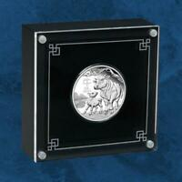 Australien - Lunar III Jahr des Ochsen - 0,5 $ 2021 PP Silber - Ox - Silver