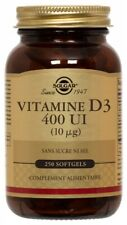 Solgar Vitamin D3 400 Ui 250 Softgels