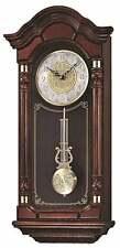 *Brand New* Seiko Brown Oak Wooden Wall Clock Qxh004Blh