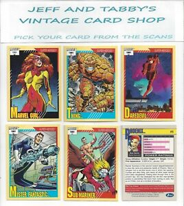 1991 Impel Marvel Universe Series 2./ Pick your cards from scans