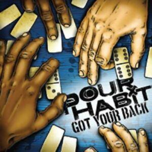 POUR HABIT got your back (CD, album) punk, rock, very good condition, knock out,