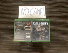 Call of Duty Classic Cover Art Empty Replacement Case Xbox One 360 Custom Box