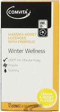 Comvita Winter Wellness Manuka Honey Lozenges with Propolis Pack of 12 Lozenges