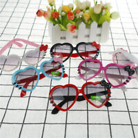 Kids Girls Boys Anti UV Bow Glasses Sunglasses Cartoon Heart Glasses Fashio SP