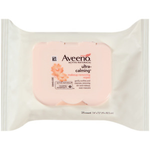 Facial Skin Clean Tissues Face Cleansing Towelettes Makeup Remover Wipes 25 Pack