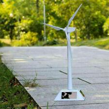 Windmühlen Modell Windkraftanlage Windrad Turbine Solarenergie Weiß Windmills !