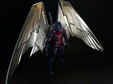Archangel with custom metallic wings marvel legends figure X-Men