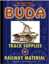 ANTIQUE BUDA CO. RAILROAD / RAILWAY TRACK PARTS Catalog