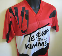 Vtg 90s ERIMA Football Shirt Classic Soccer Jersey Trikot Retro Red Mens Small S