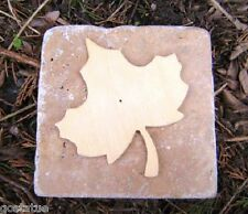 maple leaf travertine tile mold abs plastic mold rapid set mould